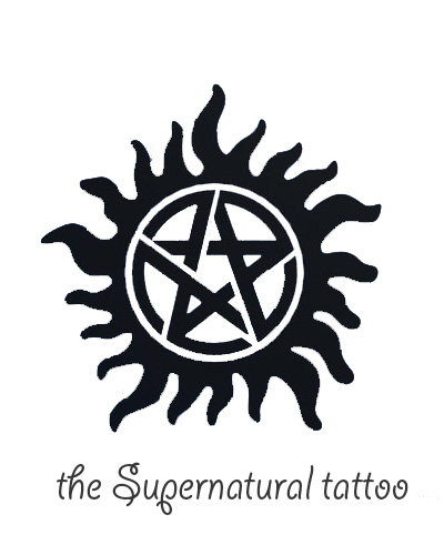 Supernatural season 1 the road so far hot cute girly geek for Dean and sams tattoo