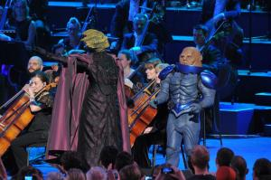 Doctor Who Proms 2013 Vastra and Strax
