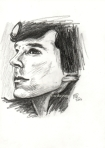 Sherlock sketch by Meike Zane