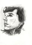 Sherlock sketch by Meike Zane