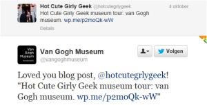 van gogh museum tweet